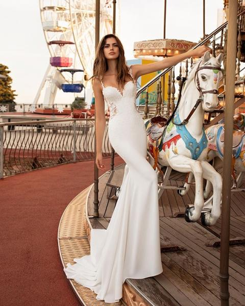 【婚紗晚裝2020】任何身形都能穿出Model Style! 15款婚紗下擺設計挑選貼士