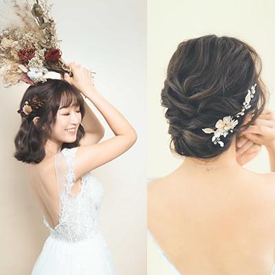 【伴娘姊妹髮型2020/21】專業化妝師示範4個韓式仙氣髮型!長、中、短髮建議
