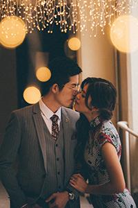 旗袍狂熱!影輯香港風情花樣年華式婚照