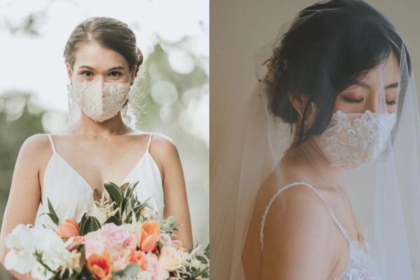 【婚禮防疫】婚禮專用口罩!新郎新娘、兄弟姊妹團造型必備時尚款式+賓客回禮靈感(附網購連結)