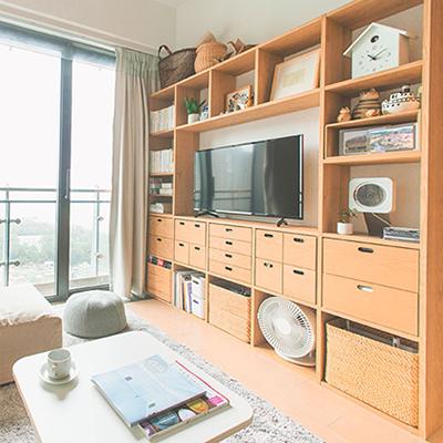【室內設計】善用無印良品家具  二人家居設計無難度