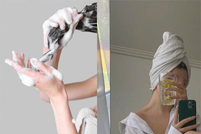 頭髮毛躁急救秘訣丨婚攝前5大日常護髮步驟丨染電燙傷髮質護髮好物推薦