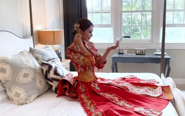 【疫情下的海外婚禮】倪晨曦婚禮細節公開:戶外婚禮場地、輕婚紗、喜帖、回禮禮物、玩新郎遊戲、香港簽紙證婚安排