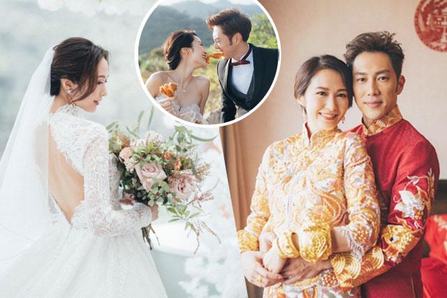 湯怡麥秋成婚禮細節|限聚令下的小型證婚酒會|過大禮、上頭套裝、婚紗裙褂、婚攝大公開
