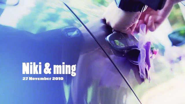 Niki and Ming intraday highlight - Niki & Ming - Art Benny wedding video services