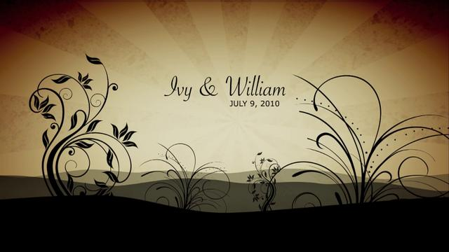 Ivy & William's photomontage - Ivy & William - Art Benny wedding video services
