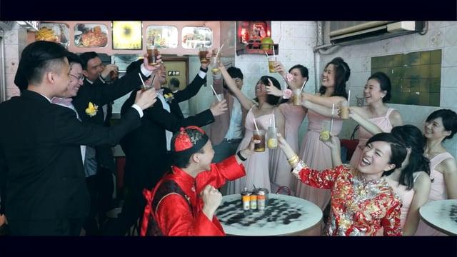 Miu+David Same Day Edit - 冰室。飲杯。 - 婚禮精華 – 香港 - Miu & David - inhim