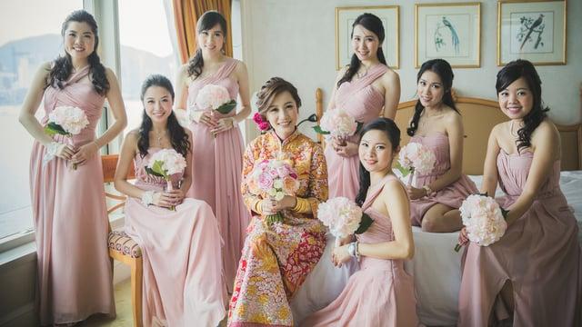 S & W - 婚禮精華 – 香港 - Stephanie & Warren - 123CHEESE