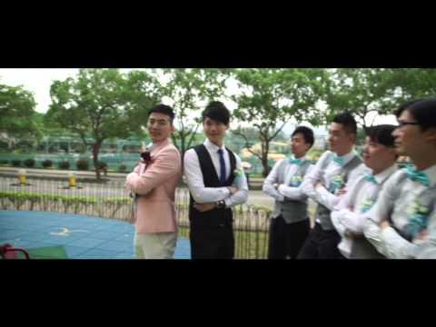 平常幽默的你竟然哭著念誓詞...... - 婚禮精華 – 香港 - Chimily & Louis - Ken Leung Videography