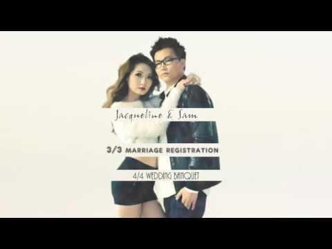 韓流Wedding Style  *Jacqueline & Sam Wedding Trailer  - 婚禮短片 - Jacqueline & Sam - Stein Image