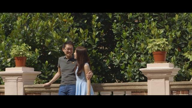 遠距離的愛 - William & Bing - 婚禮微電影 - Bing & William - TC Creations