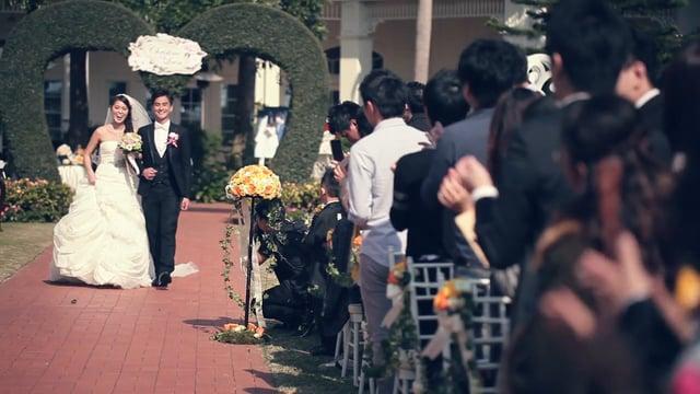 Wedding in Disneyland - Christine n Leon - 婚禮精華 – 香港 - Christine & Leon  - Friendsphotog