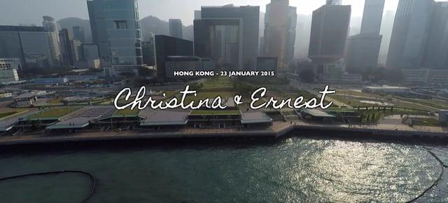 唯美主義 ﹣ Christina & Ernest - 婚禮精華 – 香港 - Christina & Ernest - Chankai Vision