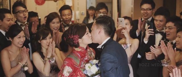 The Luckiest - Ashley & Jacky - 婚禮精華 – 香港 - Ashley & Jacky - BOZZ Wedding