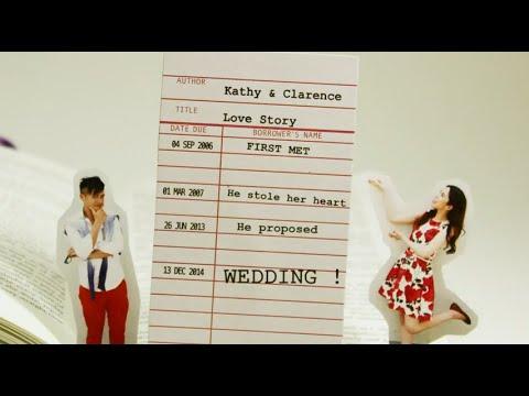 書.情曲 - 成長片段 - Kathy & Clarence - Image Pro 映誌高