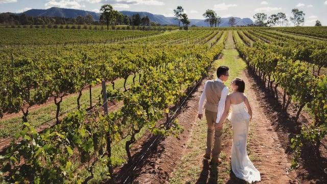 Pre Wedding in Australia  - Agnes n Wallace - 婚禮短片 - Agnes & Wallace - Friendsphotog