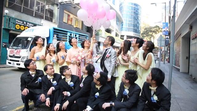晴朗的一天出發 - 婚禮精華 – 香港 - Ada & Jack - Casperism wedding production
