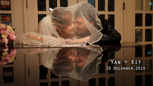 Yan & Kit's wedding - 婚禮精華 – 香港 - Yan & Kit - Casperism wedding production
