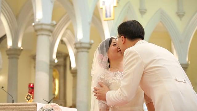當婚禮在抗爭中 - 婚禮精華 – 香港 - Samantha & Chadwick - Casperism wedding production