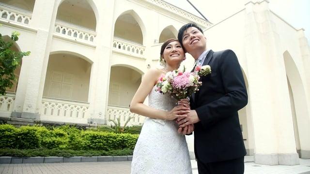 會計情緣 - 婚禮精華 – 香港 - Fiona & Jack - Casperism wedding production