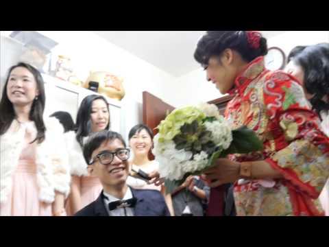 HAPPY new milestone - 婚禮精華 – 香港 - Leung Wing Yan (Doris) &  Kwok Wing San (San)  - Photolunch