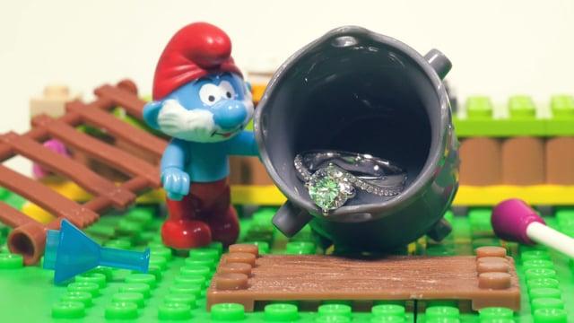 The Smurfs and us - 婚禮短片 - Antonia & Nic - Friendsphotog